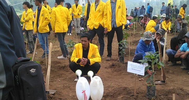 50 Mahasiswa UNIBBA mengikuti Pencanangan KKN Tematik Citarum Harum Ristekdikti