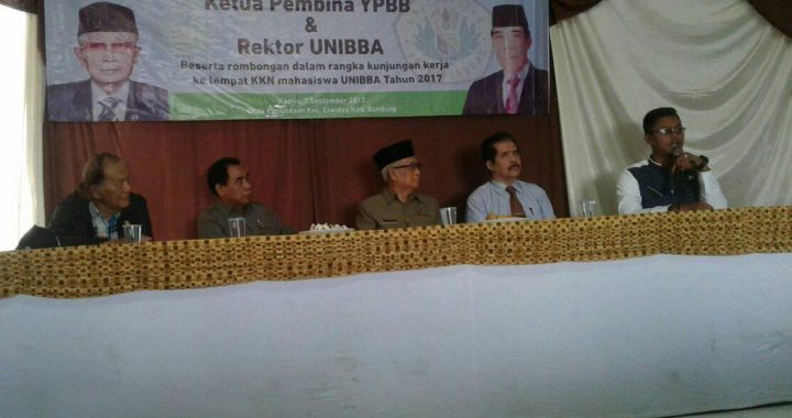 Kunjungan Pembina Yayasan Ke Lokasi KKN dI Kec. Ciwidey Kab. Bandung